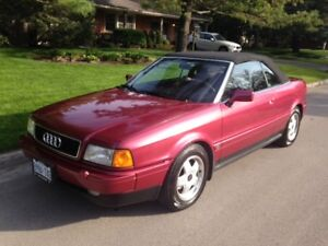 1994 Audi Cabriolet Convertible - Certified