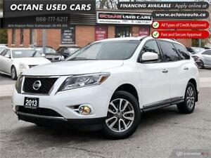 2013 Nissan Pathfinder SL Accident Free! Leather! 4x4!