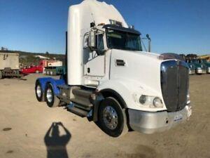 2014 Kenworth T609 6 X 4 White Prime Mover Gateshead Lake Macquarie Area Preview