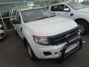 2011 Ford Ranger PX XL 4x2 White 6 Speed Manual Cab Chassis Strathmore Heights Moonee Valley Preview