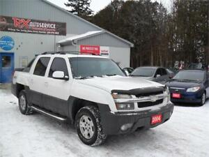 2004 Chevrolet Avalanche Z71 SUNROOF 4X4 AS TRADED MUST SEE