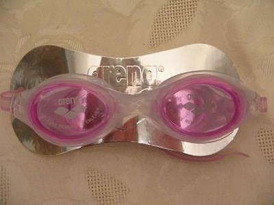 Schwimmbrille Pink ARENA UV Schutz Antibeschlag Schwimmen Brille SwimGlasses