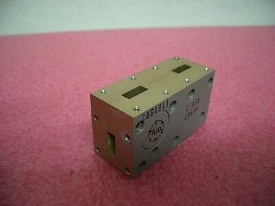 Rf Microwave Ghz Wr42 Duplexer Waveguide Adapter 7200042-00 A9183 18- 26.5 Ghz
