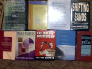 Politics Books ONLY $20 for All Nine! London Ontario image 1
