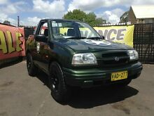 1999 Suzuki Grand Vitara (4x4) Green 4 Speed Automatic Softtop Woodbine Campbelltown Area Preview