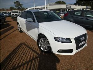 2010 Audi A4 B8 8K MY10 Multitronic White 8 Speed Constant Variable Sedan Heatherbrae Port Stephens Area Preview