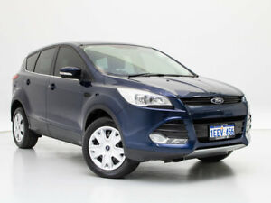 2013 Ford Kuga TF Ambiente (AWD) Blue 6 Speed Automatic Wagon