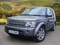 Land Rover Discovery 4 TDV6 XS (grey) 2010-03-05