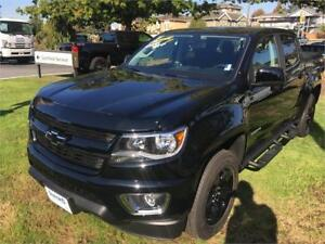 NEW 2017 Chevrolet Colorado 4WD LT BLACK Midnight edition