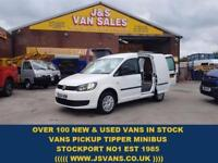 2014 64 VOLKSWAGEN CADDY 1.6 C20 TDI TRENDLINE 102 BHP CODED BUMPERS 1 OWNER VAN