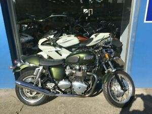 2012 Triumph Thruxton 900 Road/Naked 865cc Collingwood Yarra Area Preview