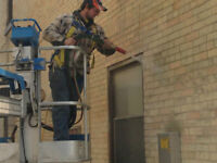 BRICK CLEANING & SEALING - not sand blasting