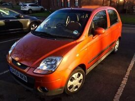 Very Low Milage Chevrolet Matiz 1.0 SE 5dr, Bluetooth AUX/USB stereo, fantastic condition