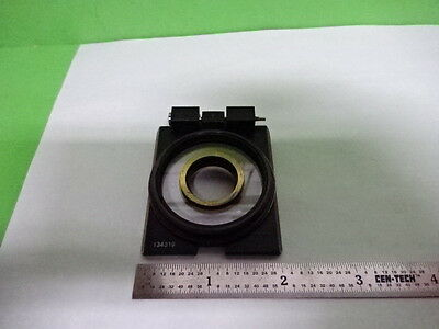 Microscope Part Zeiss Polarizer Objective Holder Pol Optics As Is Aq-08