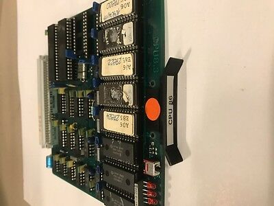 Engel Injection Molding Cpu 86 Card Supply For Cc80