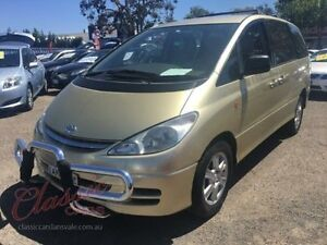 2002 Toyota Tarago ACR30R GLi Gold 4 Speed Automatic Wagon Lansvale Liverpool Area Preview