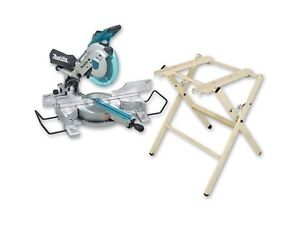 Brand new MAKITA DXT 10inch slinding mitre saw and stand