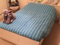 Double bed for sale incl. mattress