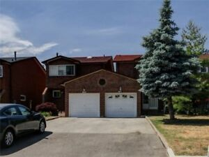 Beautiful 3 + 1 Bed 3 Bath Semi-Detached Home in Mississauga