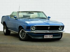 1970 Ford Mustang Blue 3 Speed Automatic Convertible Moorooka Brisbane South West Preview