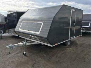 Aluminum 2 Place Hybrid Sled Trailer - Clearance! $500 Off!