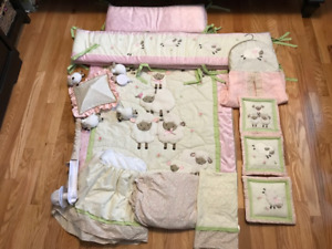 CRIB SET and MOBILE