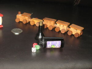 Train and Dice Miniatures