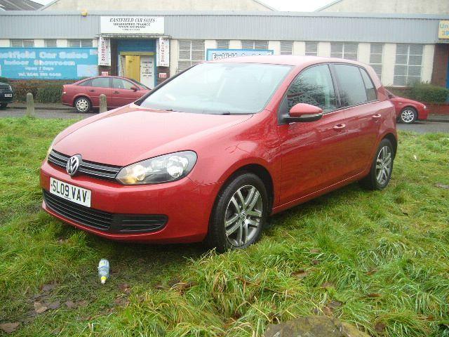 Volkswagen Golf 1.4 TSI SE 5dr (red) 2009