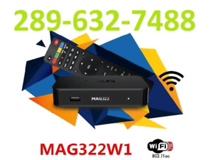 IPTV Wholesale - MAG322 + MAG322w1 + MAG324 + Buzz + Global Medi