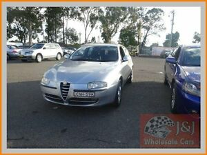 2002 Alfa Romeo 147 Selespeed Silver 5 Speed Automatic Selespeed Hatchback Warwick Farm Liverpool Area Preview