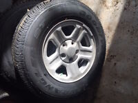 4 Never used, all season Jeep tires 225/75/R16