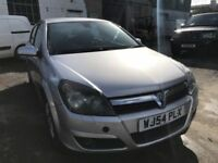 2004 Vauxhall Astra automatic, starts and drives well, MOT until 2nd July 2018, black leather interi
