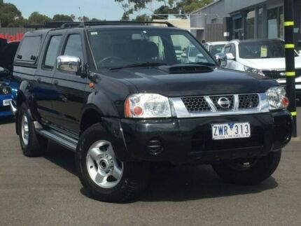 2013 Nissan Navara Black Manual Utility