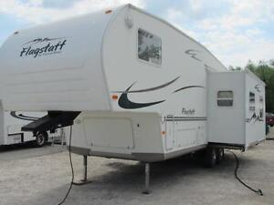 2005 FLAGSTAFF 282RKSS 5TH WHEEL BY FOREST RIVER-!! $10995