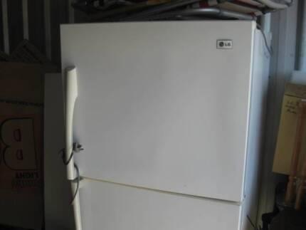 LG two door fridge