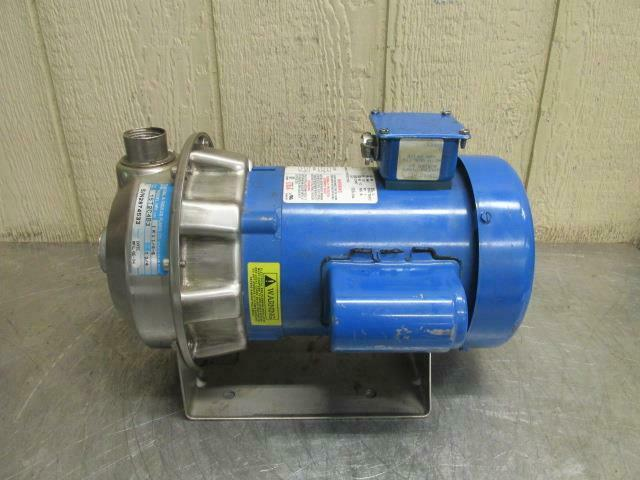 G&L Model NPE 1ST2C4B3 Centrifugal Pump 50 GPM 1/2 HP 1 PH 115/230v 1 x 1.25 x 6