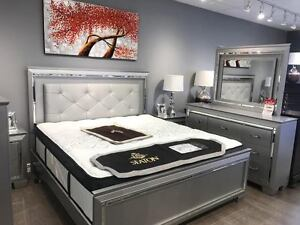 BLOWOUT SALE UP 60% OFF ON BEDROOMS, MATTRESSES Kitchener / Waterloo Kitchener Area image 4