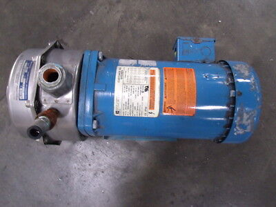 Goulds Pumps Lc Multi-stage Centrifugal Pump - Model Lc - Stainless Steel End