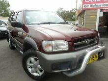 2000 Nissan Pathfinder ST (4x4) Burgundy 4 Speed Automatic 4x4 Wagon Edgeworth Lake Macquarie Area Preview