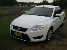 2008 Ford Mondeo MA LX White 6 Speed Automatic Sedan Camden Camden Area Preview