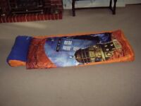 Child's 'Dr Who' Ready Bed sleeping bag