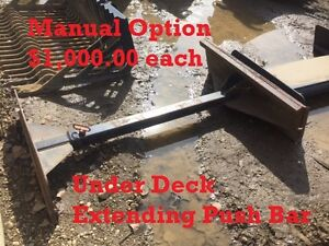 Under Deck Extending Push Bar