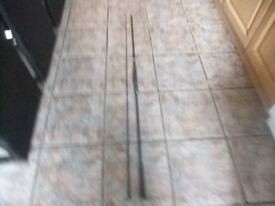 SELECTION OF CARP RODS SOME BRAND NEW SEE ADVERT BARGAIN PRICES.