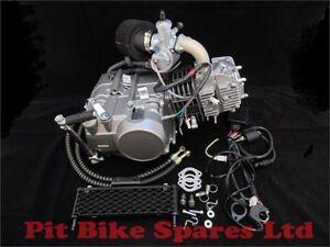 Zongshen Z140 Pit Bike Engine, Molkt Carb, Oil Cooler & Complete Digital Loom