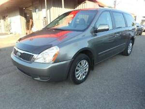 KIA SEDONA LX 2011 ( 7 PASSAGERS, BLUETOOTH, TV-DVD )