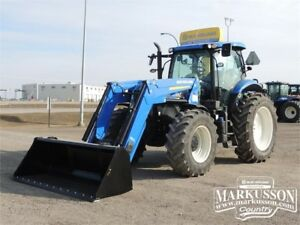 NH T7.200 Tractor Powershift, PTO, Loader & Grapple, Dlx Cab