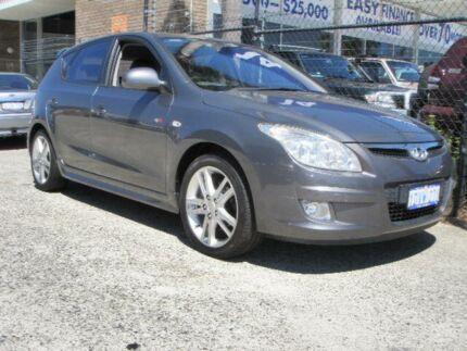 2009 Hyundai i30 FD MY10 SR Grey 5 Speed Manual Hatchback Wangara Wanneroo Area Preview
