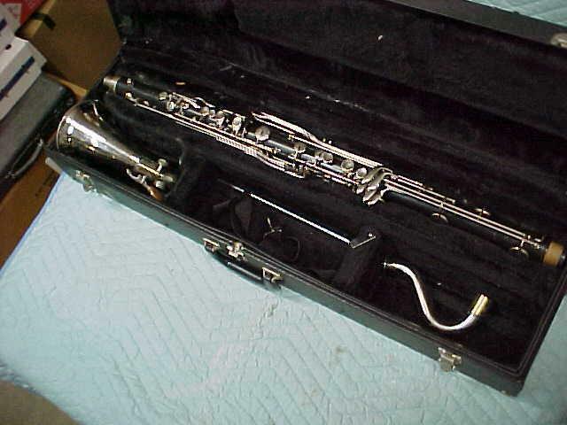 Vintage Selmer/Bundy Bass Clarinet, Good Condition