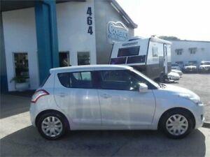 2012 Suzuki Swift FZ GL White 4 Speed Automatic Hatchback Earlville Cairns City Preview