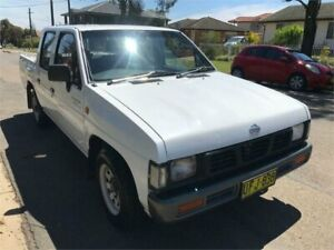 1994 Nissan Navara ST White 5 Speed Manual Dual Cab Pick-up Chester Hill Bankstown Area Preview